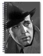 Humphrey Bogart Publicity Portrait Casablabca 1942-2016 Spiral Notebook