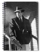 Humphrey Bogart Stairs The Maltese Facon 1941  Spiral Notebook