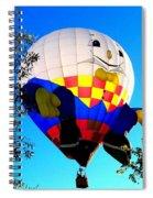 Humpty Dumpty Balloon Spiral Notebook