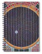 Hundertwasser Shuttle Window Spiral Notebook