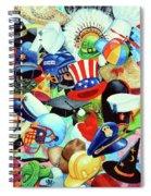 Hundreds Of Hats Spiral Notebook
