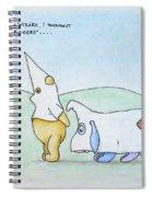 Hung Like A Tigger Spiral Notebook