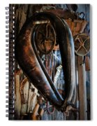 Hung Out To Dry Spiral Notebook