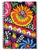 Hungarian Matyo Szentgyorgy Folk Embroidery Photographic Print Spiral Notebook