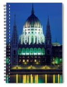 Hungarian Parliament Building Spiral Notebook