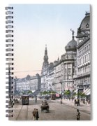 Hungary: Budapest, C1895 Spiral Notebook