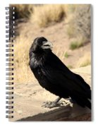 Hungry Crow Spiral Notebook
