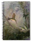 Hungry Hummers Spiral Notebook