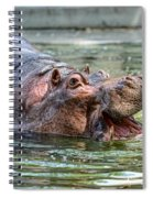 Hungry Hungry Hippo Spiral Notebook