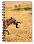 Hungry Hyena Spiral Notebook