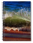 Hungry Wave Of Fenwick Island Spiral Notebook