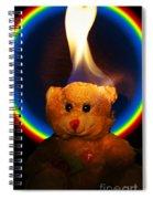 Hunk Of Burning Love Spiral Notebook
