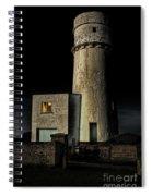Hunstanton Lighthouse At Night Spiral Notebook