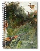 Hunter And Mallards Spiral Notebook