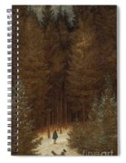 Hunter In The Forest  Spiral Notebook