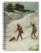 Hunters In The Snow Or The Poachers Spiral Notebook