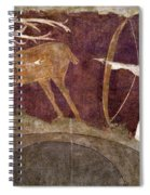 Hunting, 12th Century Spiral Notebook