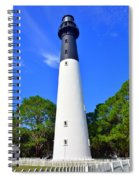 Hunting Island Lighthouse Beaufort Sc Spiral Notebook