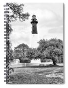 Hunting Island Lighthouse Spiral Notebook