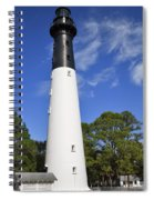 Hunting Island Lighthouse South Carolina Spiral Notebook