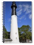 Hunting Island Lighthouse South Carolina Spiral Notebook