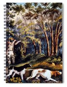 Hunting: Woodcock, 1852 Spiral Notebook