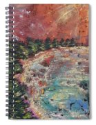 Huntington Lake Spiral Notebook