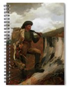 A Huntsman And Dogs Spiral Notebook
