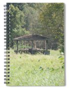 Huppa In The Fields Spiral Notebook