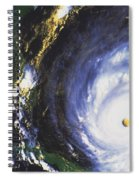 Hurricane Floyd Spiral Notebook