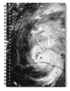 Hurricane Irma Infrared Spiral Notebook