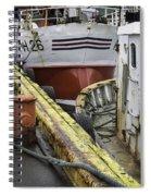 Husavik Boats Iceland 3741 Spiral Notebook