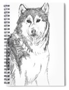 Husky Spiral Notebook