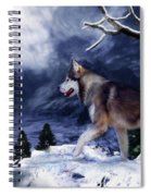 Husky - Mountain Spirit Spiral Notebook