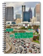 Hustle And Bustle On The Highways And Byways Spiral Notebook