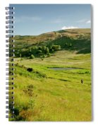 Hutton's Bog View. Holyrood Park. Spiral Notebook