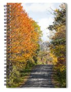 Huyck Preserve Fall Spiral Notebook