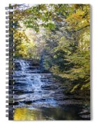 Huyck Preserve Falls Spiral Notebook