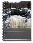 Hwy Ice   Spiral Notebook