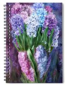 Hyacinth In Hyacinth Vase 1 Spiral Notebook
