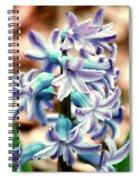 Hyacinth Photo Manipulation  Spiral Notebook