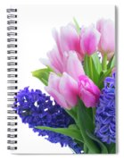 Hyacinths And Tulips  Spiral Notebook