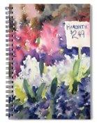 Hyacinths Spiral Notebook