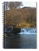 Hyde Mill Wisconsin Spiral Notebook