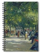 Hyde Park - London  Spiral Notebook