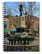 Hyde Park Square  4183 Spiral Notebook