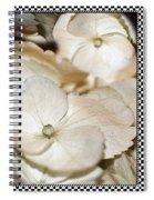 Hydrangea Blossom Framed Spiral Notebook