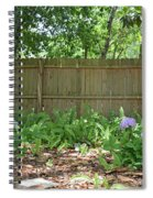 Hydrangea Bushes Spiral Notebook