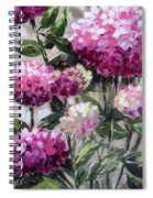 Hydrangea Spiral Notebook