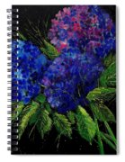 Hydrangeas 66 Spiral Notebook